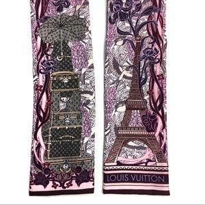 Louis Vuitton Accessories - Louis Vuitton Eiffel Tower & Luggage Scarf